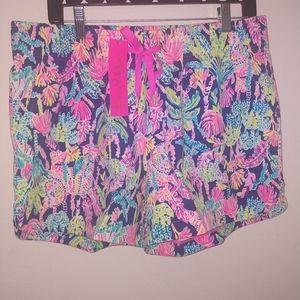 Lilly Pulitzer Knit Shorts NWT